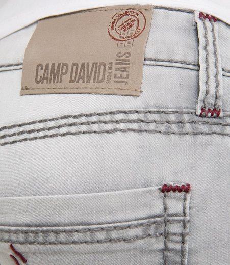 CAMP DAVID Skaterbermudas