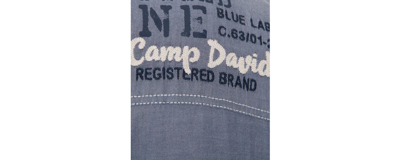CAMP DAVID Kurzarmhemd Billig Verkauf Großer Verkauf Günstig Kaufen Finden Große TIGl4fde