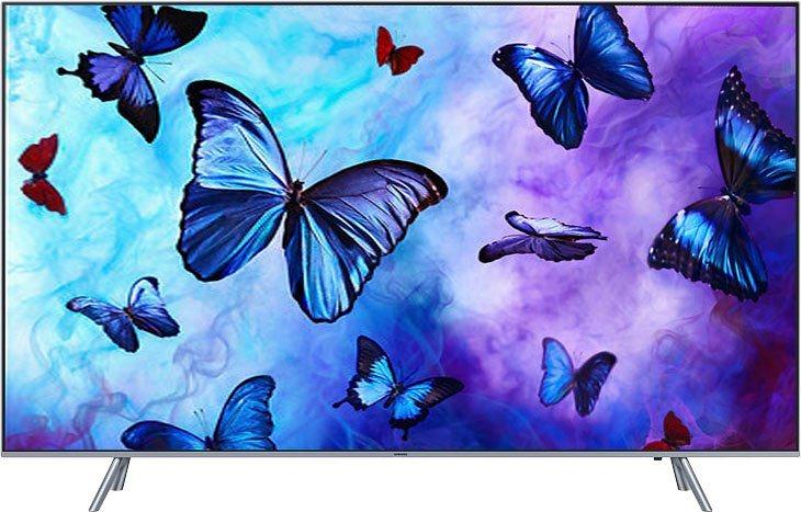 samsung premium gq55q6fngt qled fernseher 138 cm 55 zoll 4k ultra hd smart tv online kaufen. Black Bedroom Furniture Sets. Home Design Ideas