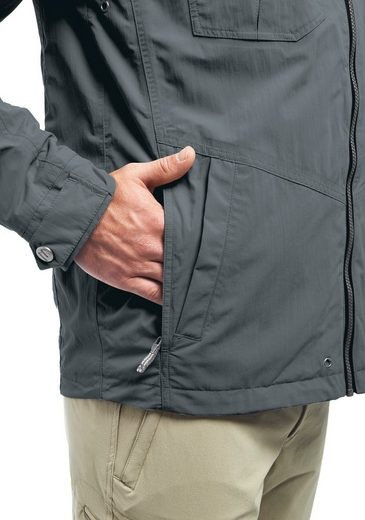 Maier Sports Funktionsjacke Colwyn M, Urbane Jacke mit vollem Wetterschutz