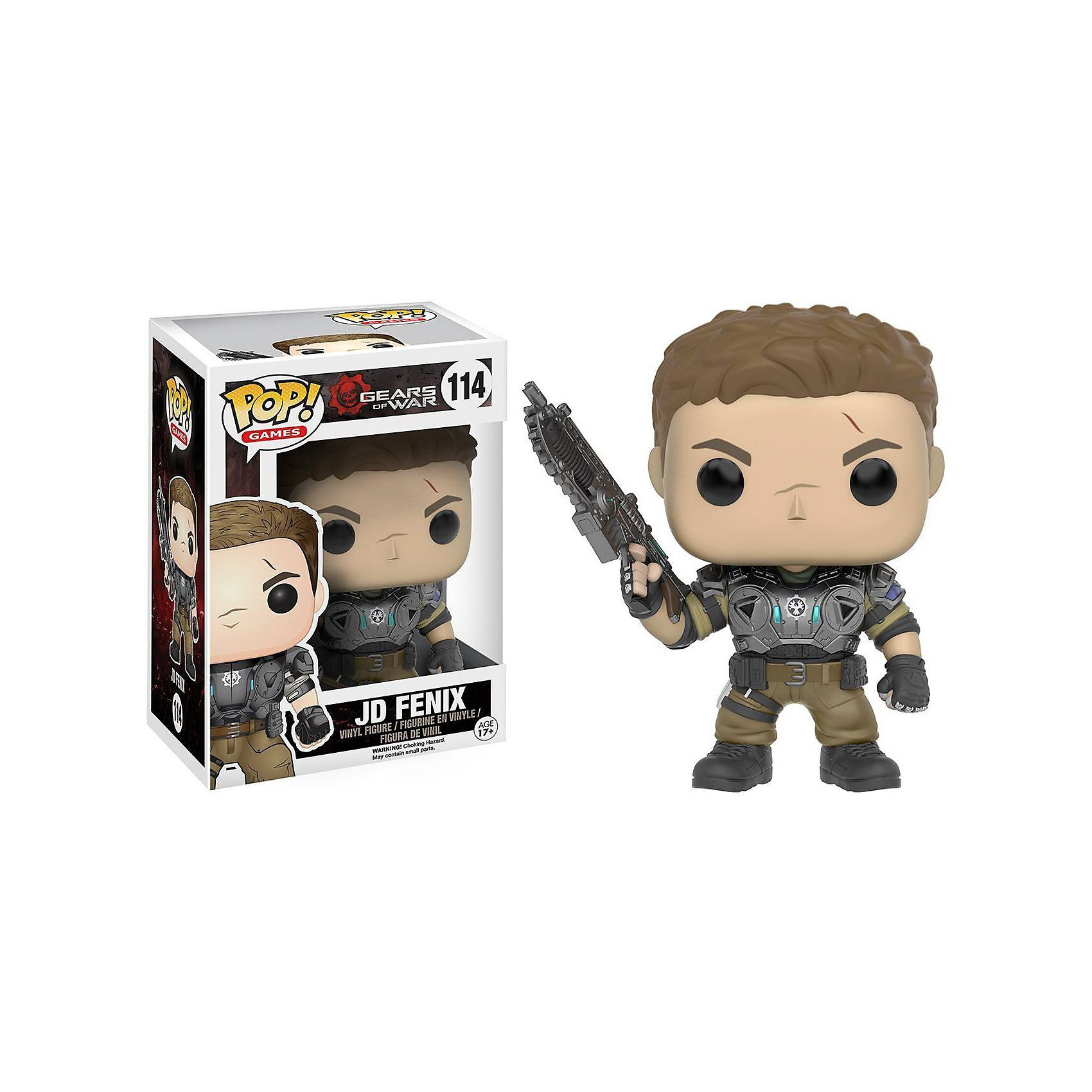 Funko POP! Vinyl Sammelfigur: Gears of War JD Fenix