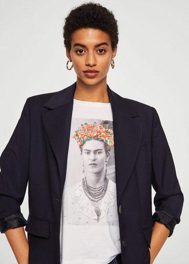 MANGO T-Shirt Frida Kahlo