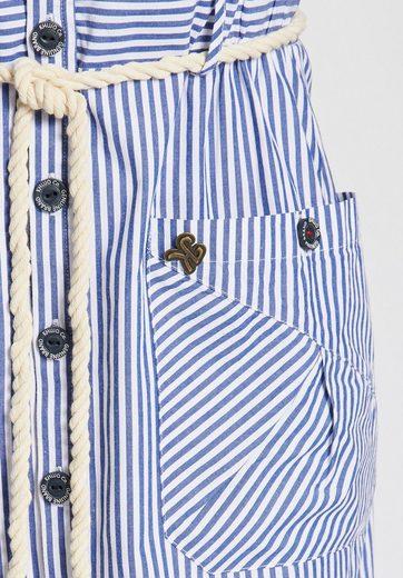 khujo Sommerkleid ALOJA, mit Streifenmuster