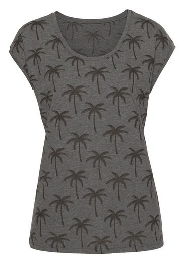 Beachtime T-shirt With Palms (2 Pcs)