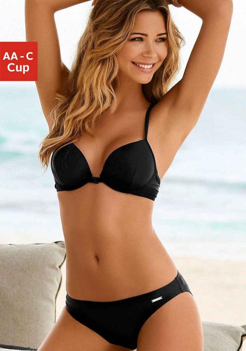 Bruno Banani Push-Up-Bikini mit Vorderverschluss