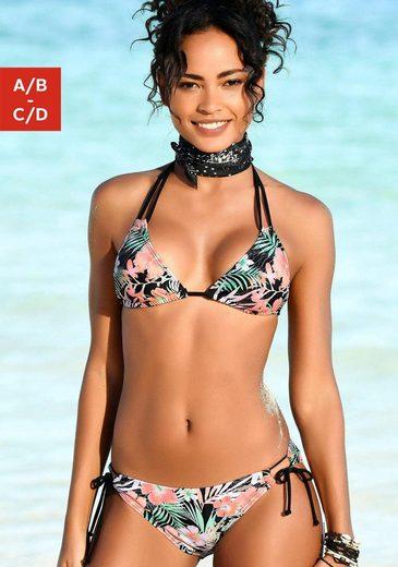 Chiemsee Triangel-Bikini-Top »Malibu«, in aktuellem Tropical-Print