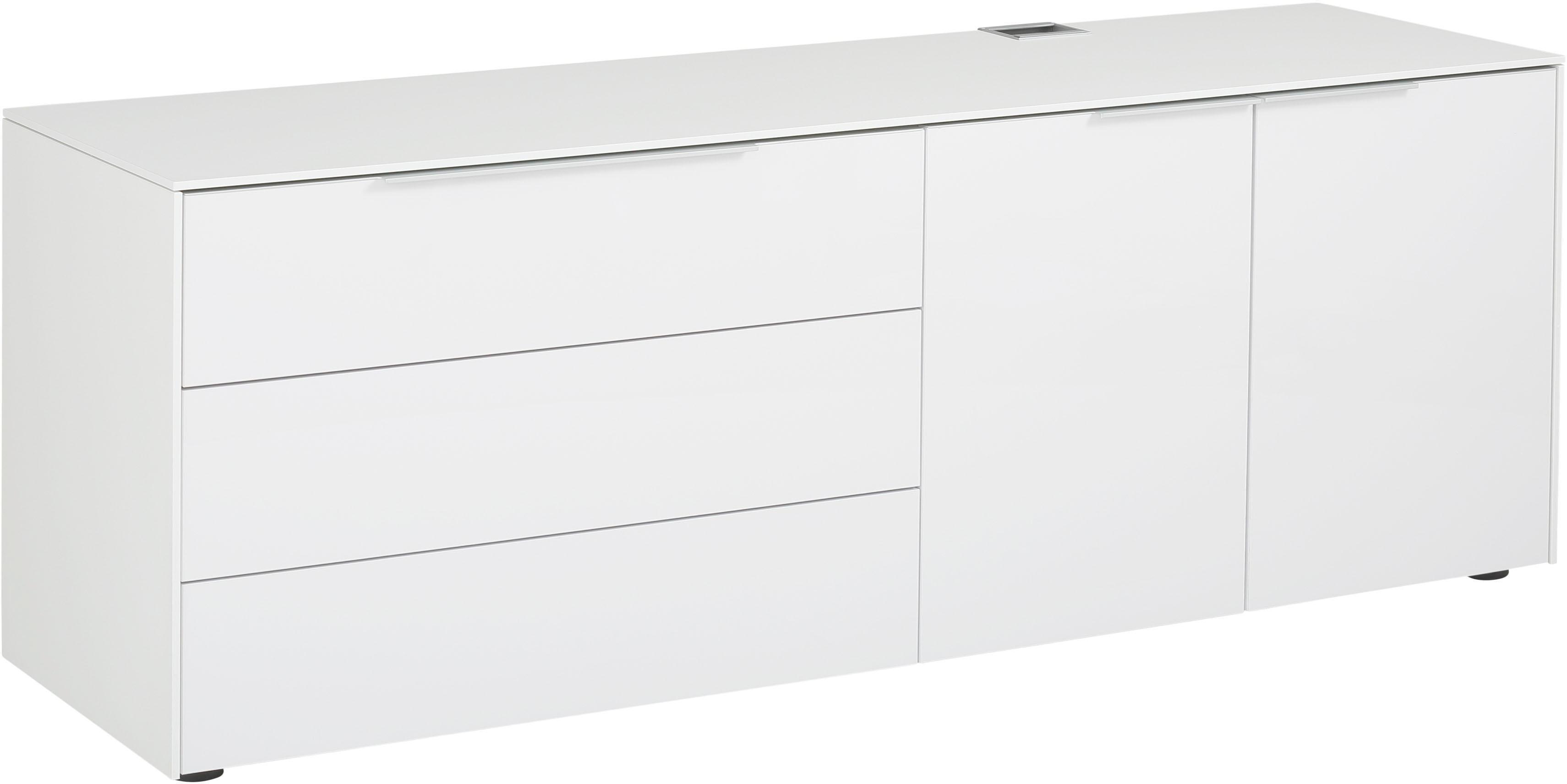 Maja Möbel Container »5505 eDJUST« | Büro > Büroschränke > Container | Weiß - Matt - Glanz | Sonoma - Eiche - Lack - Melamin | Maja Möbel