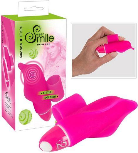 Smile Mini-Vibrator »Little Dolphin«, mit Fingerschlaufe in Delphinoptik