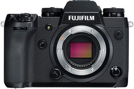 FUJIFILM »X-H1 Body+Batterie Griff VPB-XH1« Systemkamera (24,3 MP, Bluetooth)