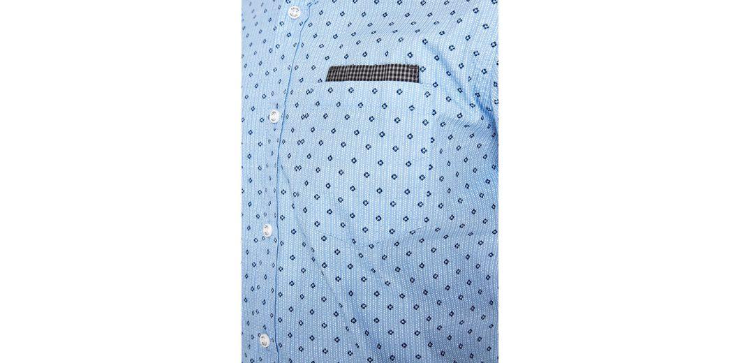 Unter 50 Dollar s.Oliver RED LABEL Slim: Kurzarmhemd im Mustermix Große Diskont Günstig Online Auslass Bester Verkauf U9esX