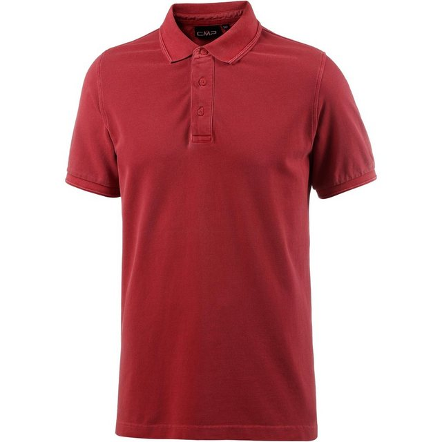 Herren CMP Poloshirt rot | 08055199364732