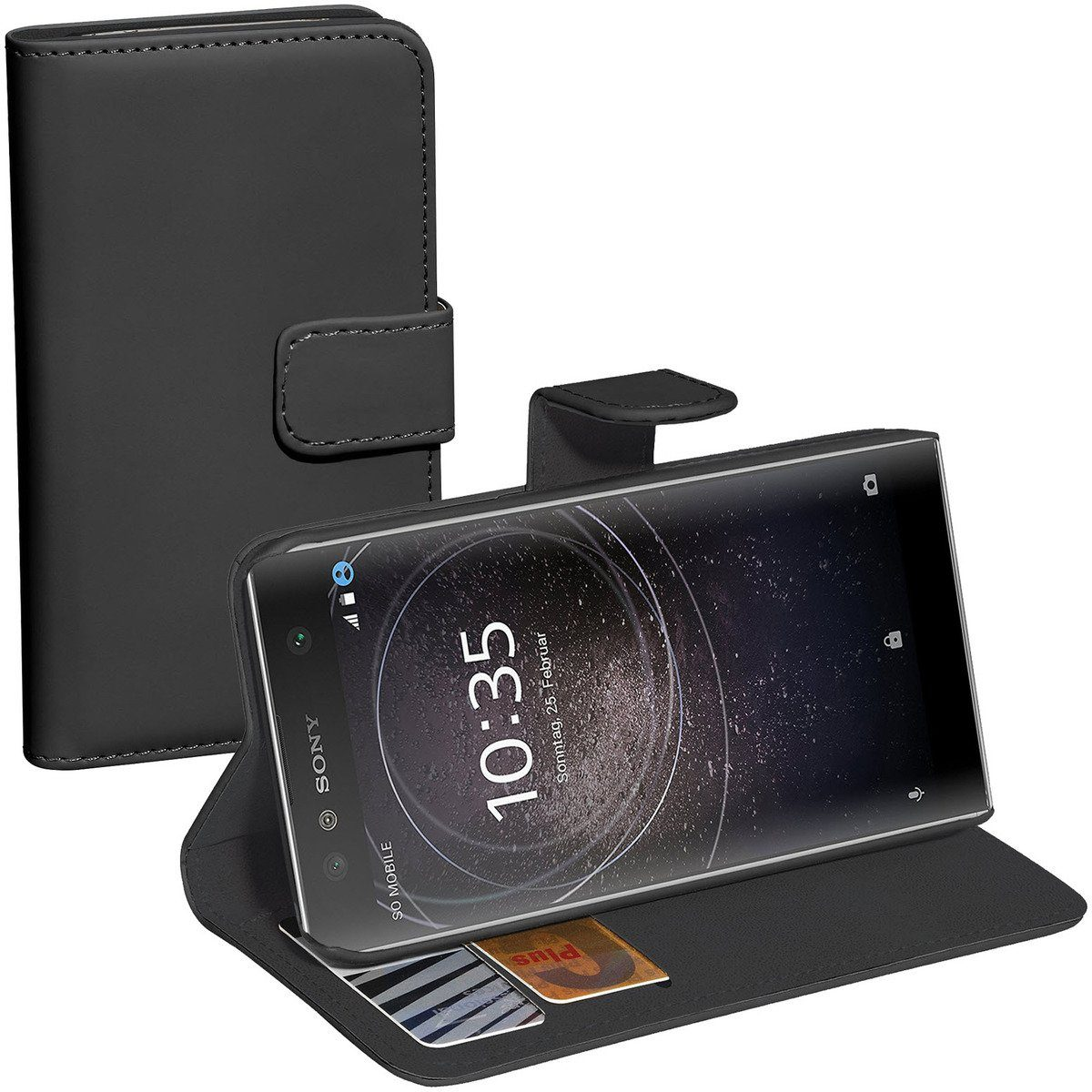PEDEA Handytasche »Book Classic für Sony Xperia XZ2 Compact«