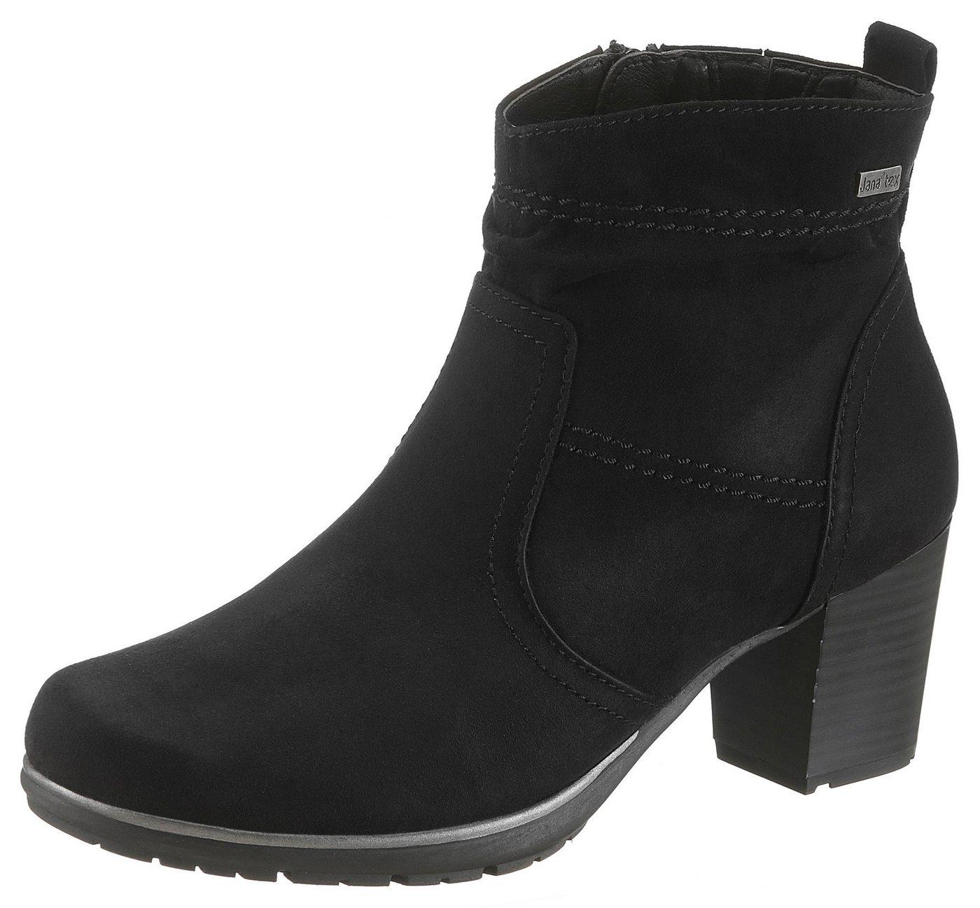Jana Winterstiefelette mit Jana-Tex und komfortabler Schuhweite G   Schuhe > Boots > Winterstiefel   Schwarz   Jana