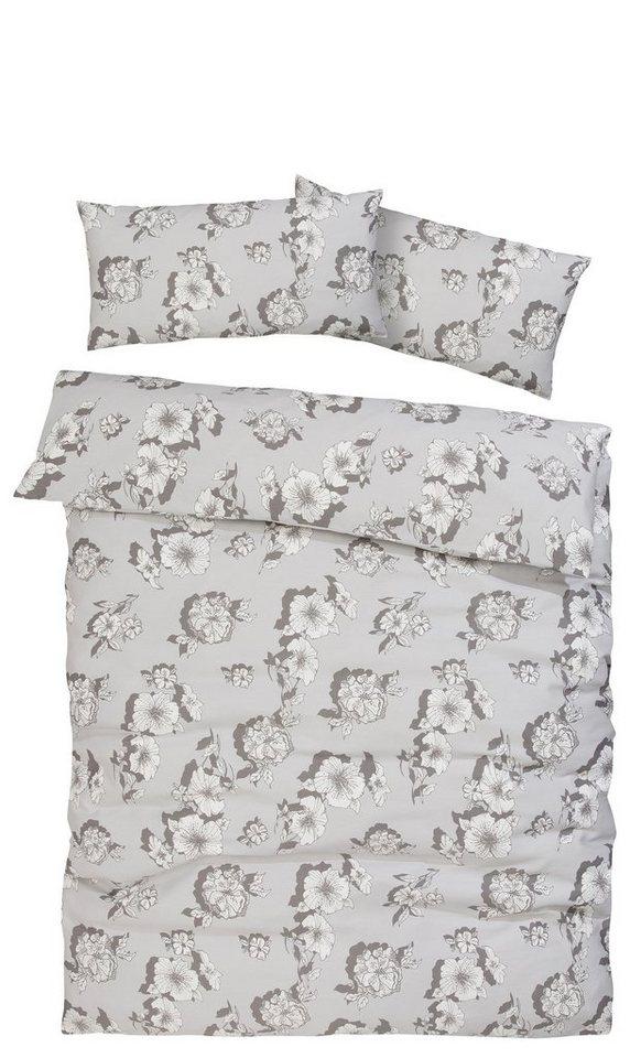 bettw sche julia my home selection mit feinen bl tenmotiven online kaufen otto. Black Bedroom Furniture Sets. Home Design Ideas
