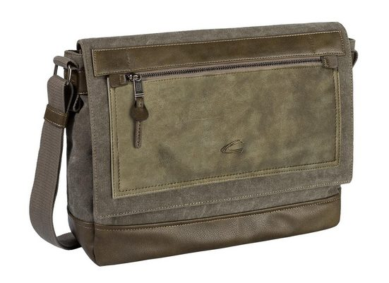 Active Mit Bag Laptopfach »sumatra« Camel Messenger qdSfId