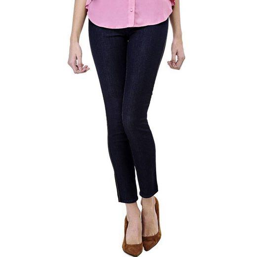 Devinez Jeans Maigre Taille Haute
