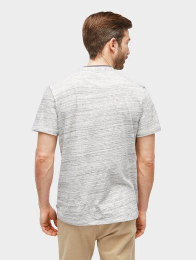 Tom Tailor T-Shirt T-Shirt in Melange-Optik