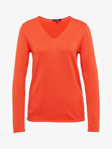Tom Tailor Knitted Sweaters Basic V-neck