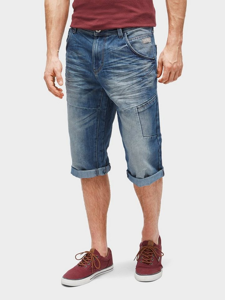 tom tailor jeansbermudas troy slim bermuda shorts mit. Black Bedroom Furniture Sets. Home Design Ideas