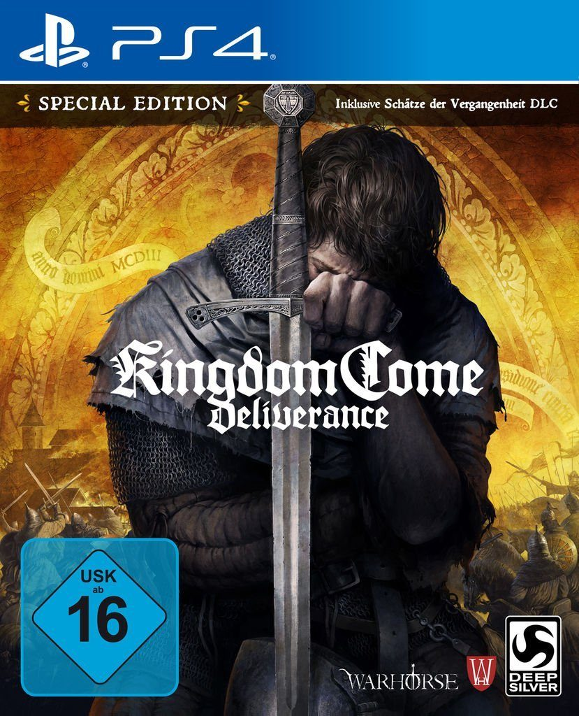 Koch Media Playstation 4 - Spiel »Kingdom Come Deliverance Special Edition«