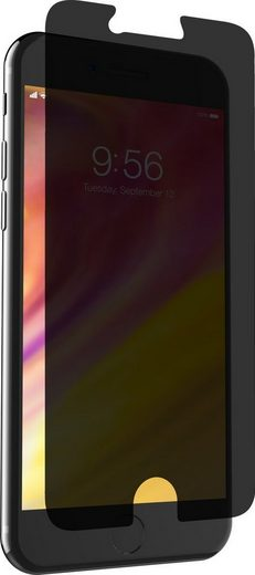 invisibleSHIELD Folie »Glass+ Privacy iPhone 8/7/6s/6, Case Friendly«