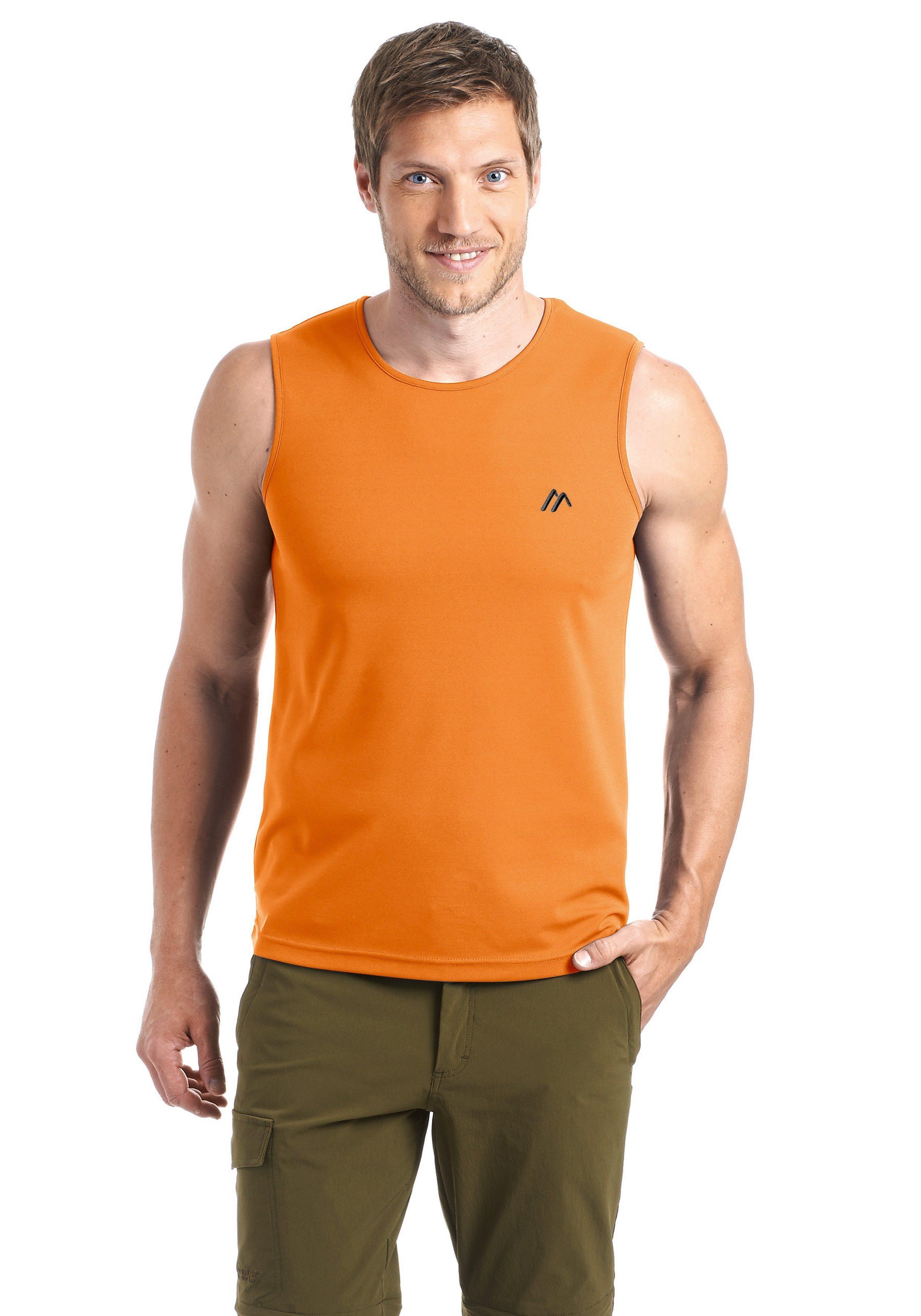 Maier Sports Funktionsshirt »Peter«   Sportbekleidung > Sportshirts > Funktionsshirts   Orange   Maier Sports