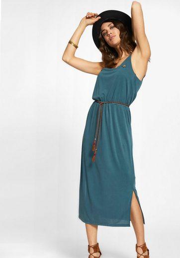 khujo Jerseykleid MOMILANI, mit Rückenschlitz