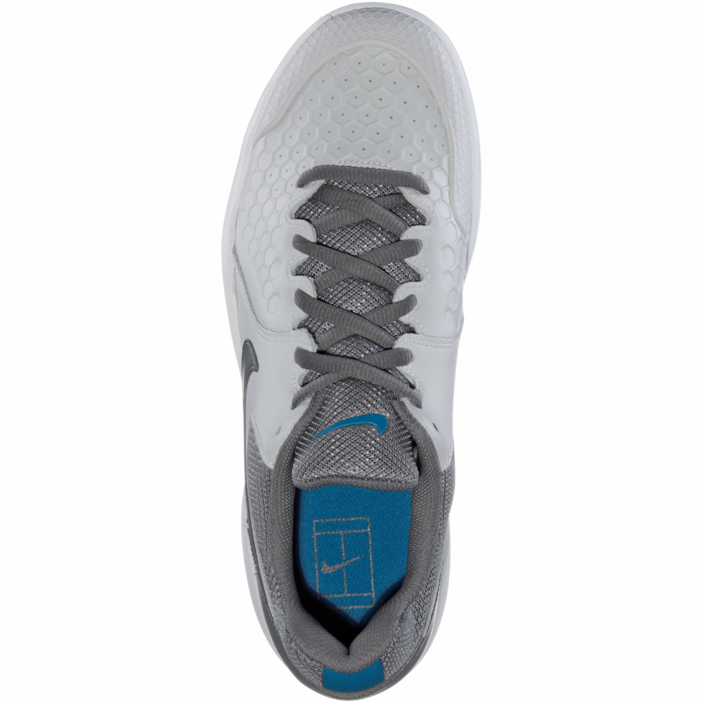 Nike NIKE AIR ZOOM RESISTANCE CLY Tennisschuh  grau-hellgrau