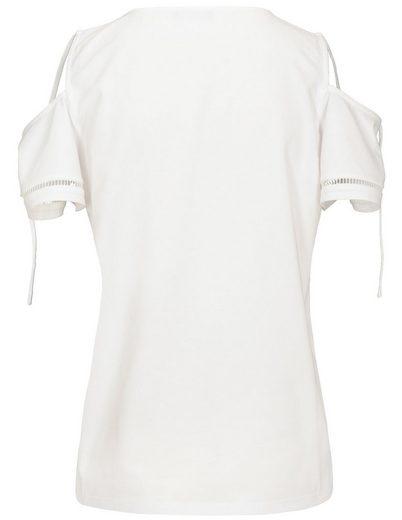 JETTE T-Shirt, mit Cut-Outs an den Schultern