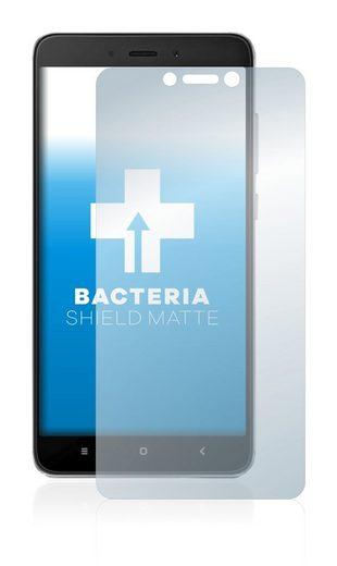 upscreen Schutzfolie »für Xiaomi Redmi Note 4«, Folie Schutzfolie matt entspiegelt antibakteriell