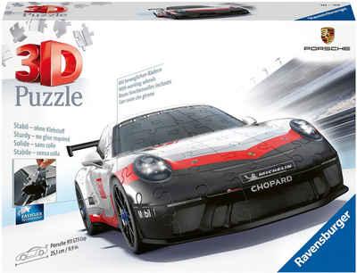 Ravensburger 3D-Puzzle »Porsche GT3 Cup«, 108 Puzzleteile, Made in Europe, FSC® - schützt Wald - weltweit