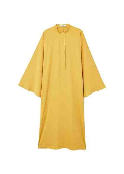 MANGO Langes fließendes Kleid
