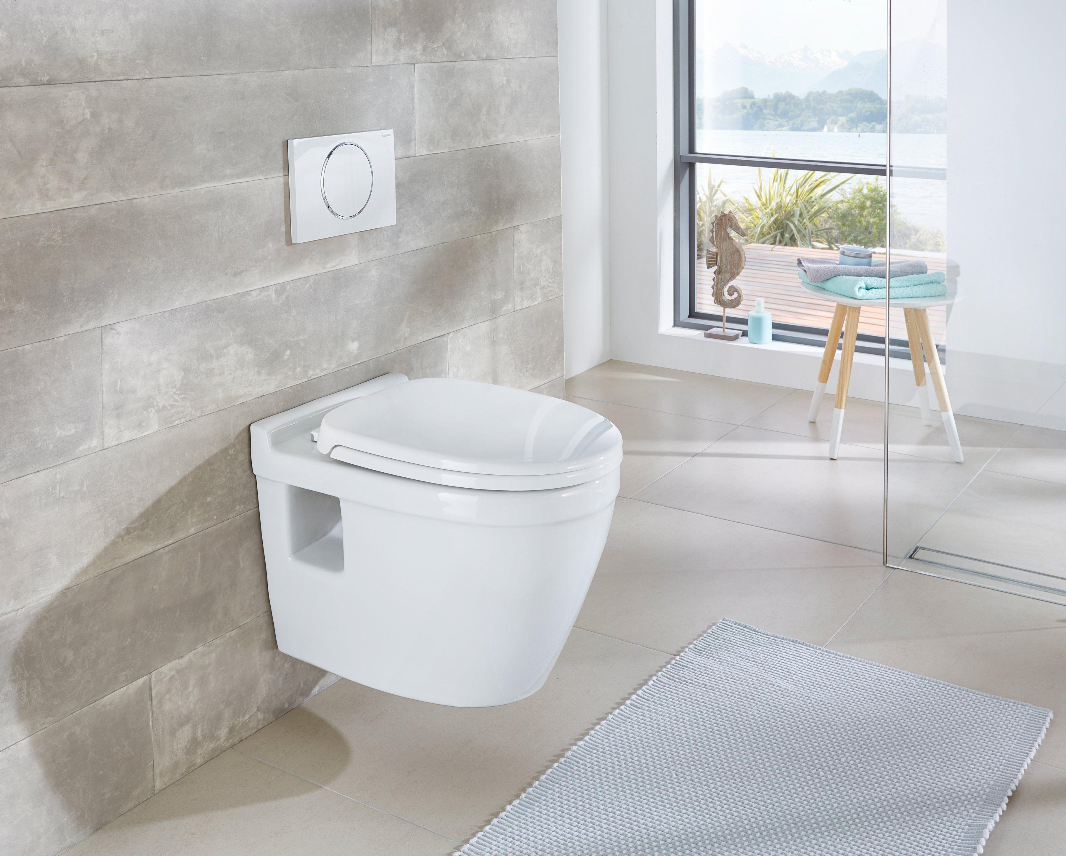 Wand WC »Dover«, Keramik Toilette inkl. WC-Sitz mit Softclose