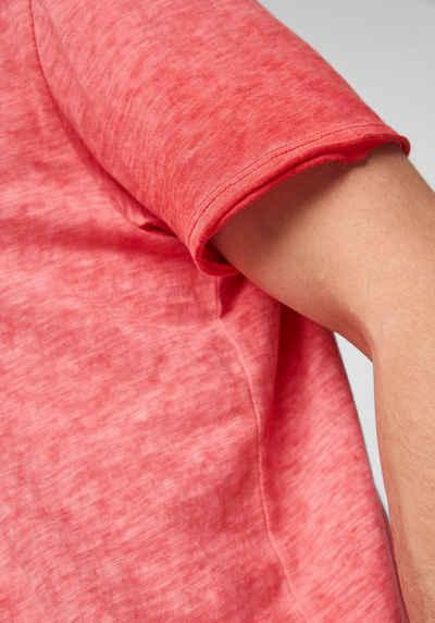 s.Oliver T-Shirt washed-out-Optik