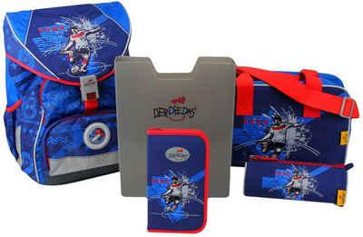 DerDieDas® Schulrucksack »ErgoFlex XL - Star Kicker« (Set)