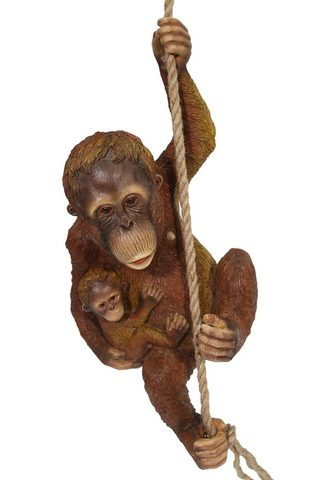 HOME AFFAIRE Gyvūnų figūrėlė »Orangutan su Jungen a...