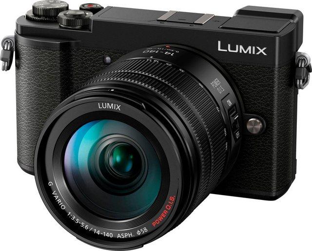 Systemkameras - Lumix Panasonic »DC GX9HEG K« Systemkamera (LUMIX G VARIO 14 140mm F3.5 5.6 ASPH. POWER O.I.S., 20,3 MP, 4x opt. Zoom, Bluetooth, WLAN (Wi Fi), Videoaufnahmen in 4K 2160p)  - Onlineshop OTTO