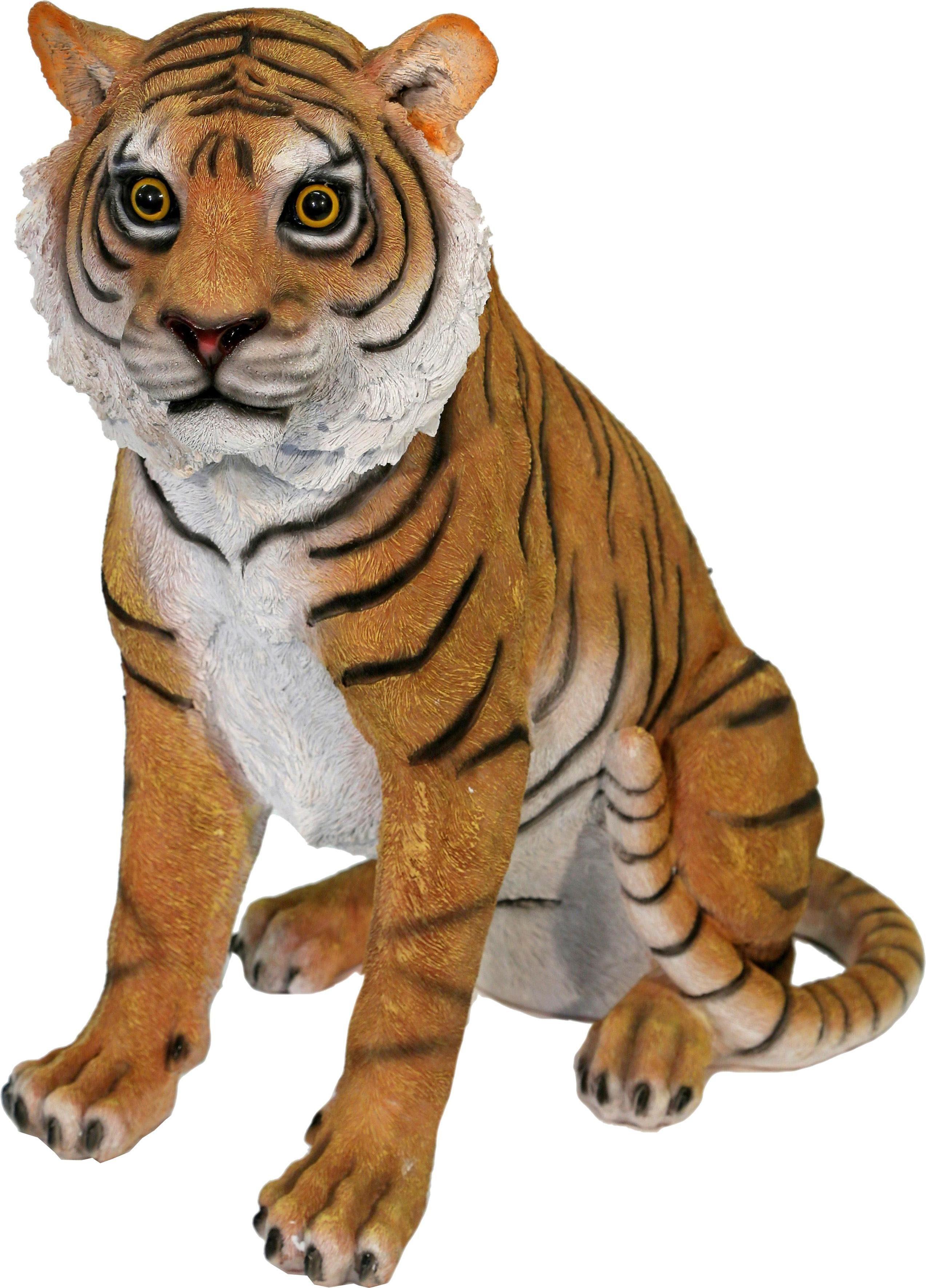 Home affaire Dekofigur »Tiger sitzend«, Höhe 44 cm