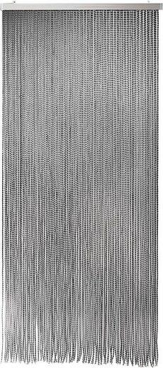 Türvorhang »Bonbon«, Home affaire, Hakenaufhängung (1 Stück), aus Polyester, 94 Stränge