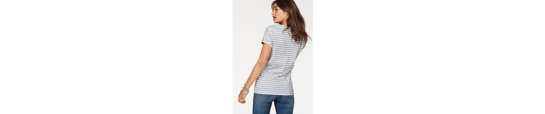 Tommy Jeans T-Shirt TJW LINEN BLEND STRIPE TEE Online-Shop FbPG4D