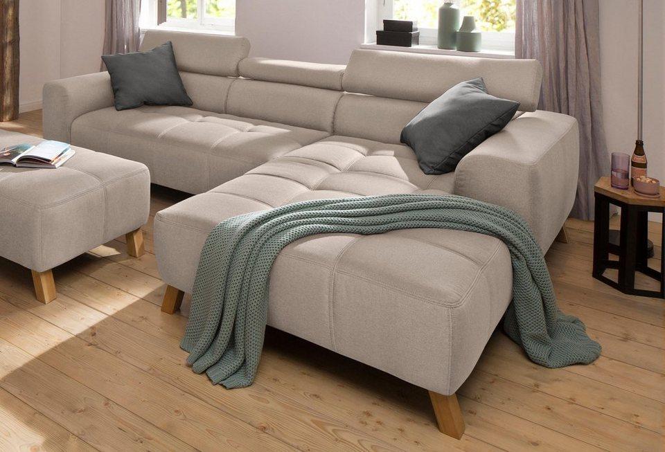 home affaire polsterecke arango mit hochwertigem softsitz und kopfteilverstellung online. Black Bedroom Furniture Sets. Home Design Ideas