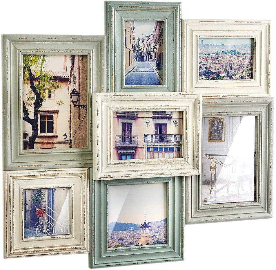 Home affaire Bilderrahmen Collage, Bilderhalter Vintage für 7 Bilder