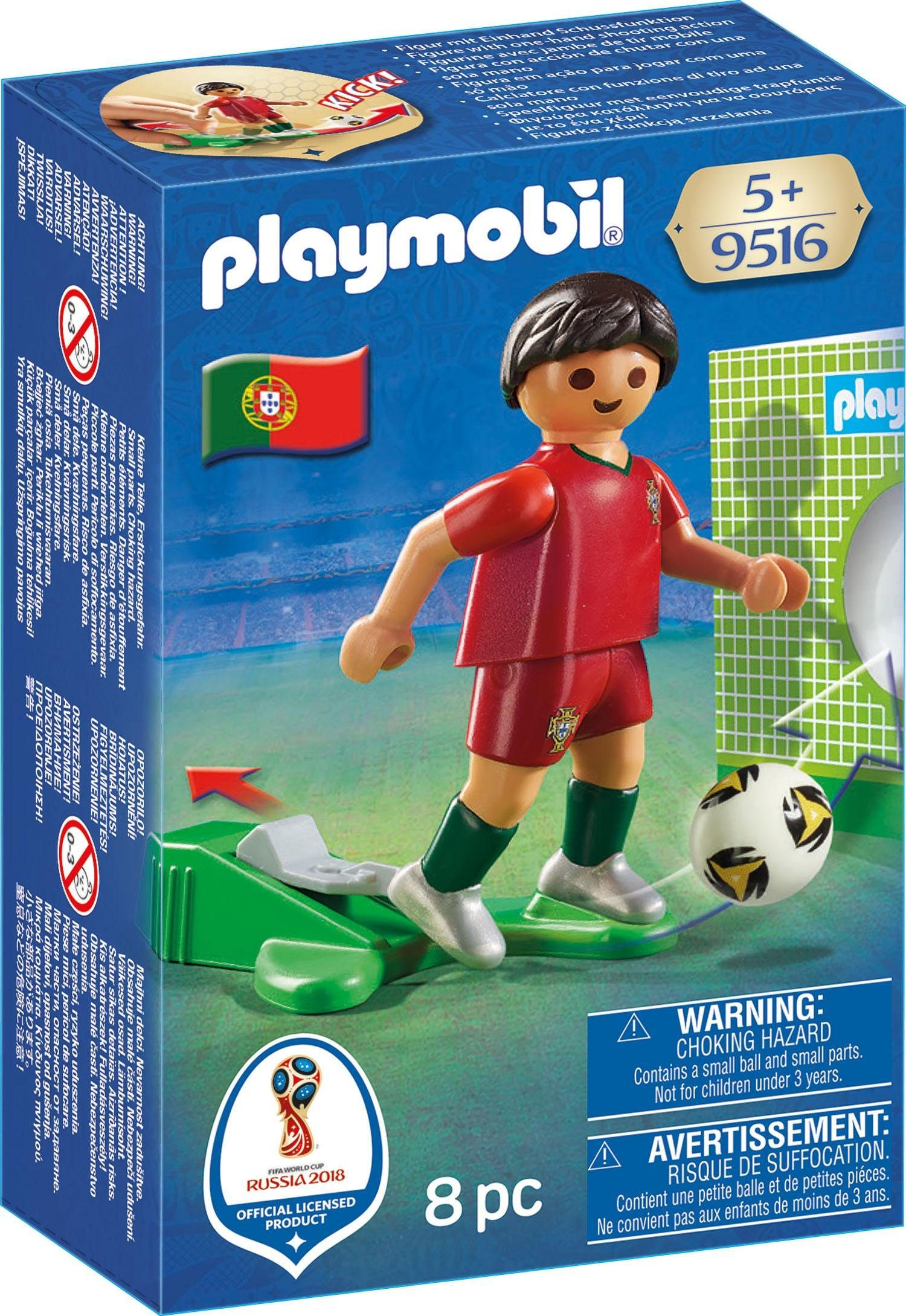 Playmobil® Nationalspieler Portugal (9516), »Sports & Action - 2018 FIFA World Cup Russia™«