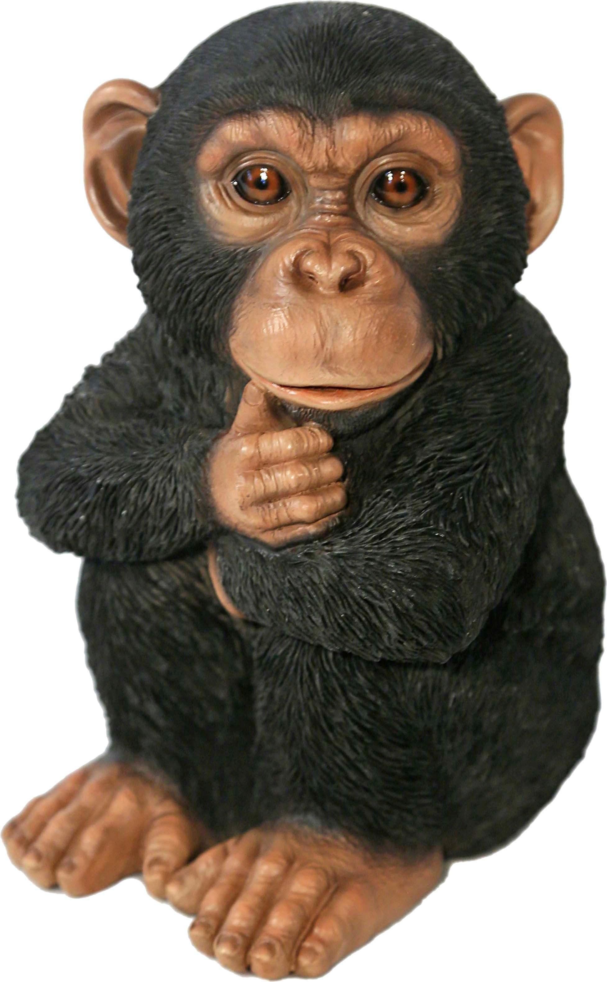 Home affaire Dekofigur »Schimpanse sitzend«
