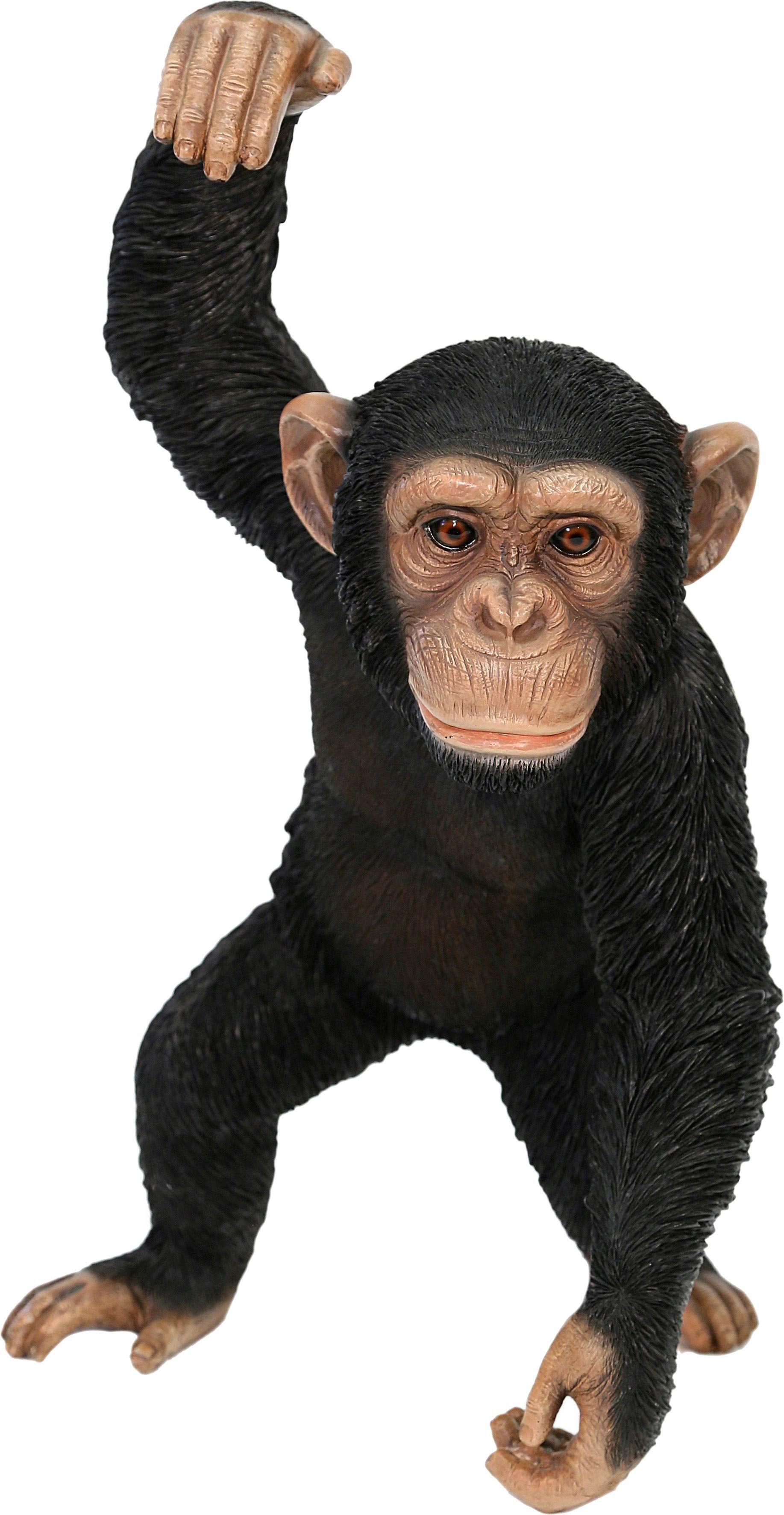 Home affaire Dekofigur »Affe hält rechte Hand nach oben«