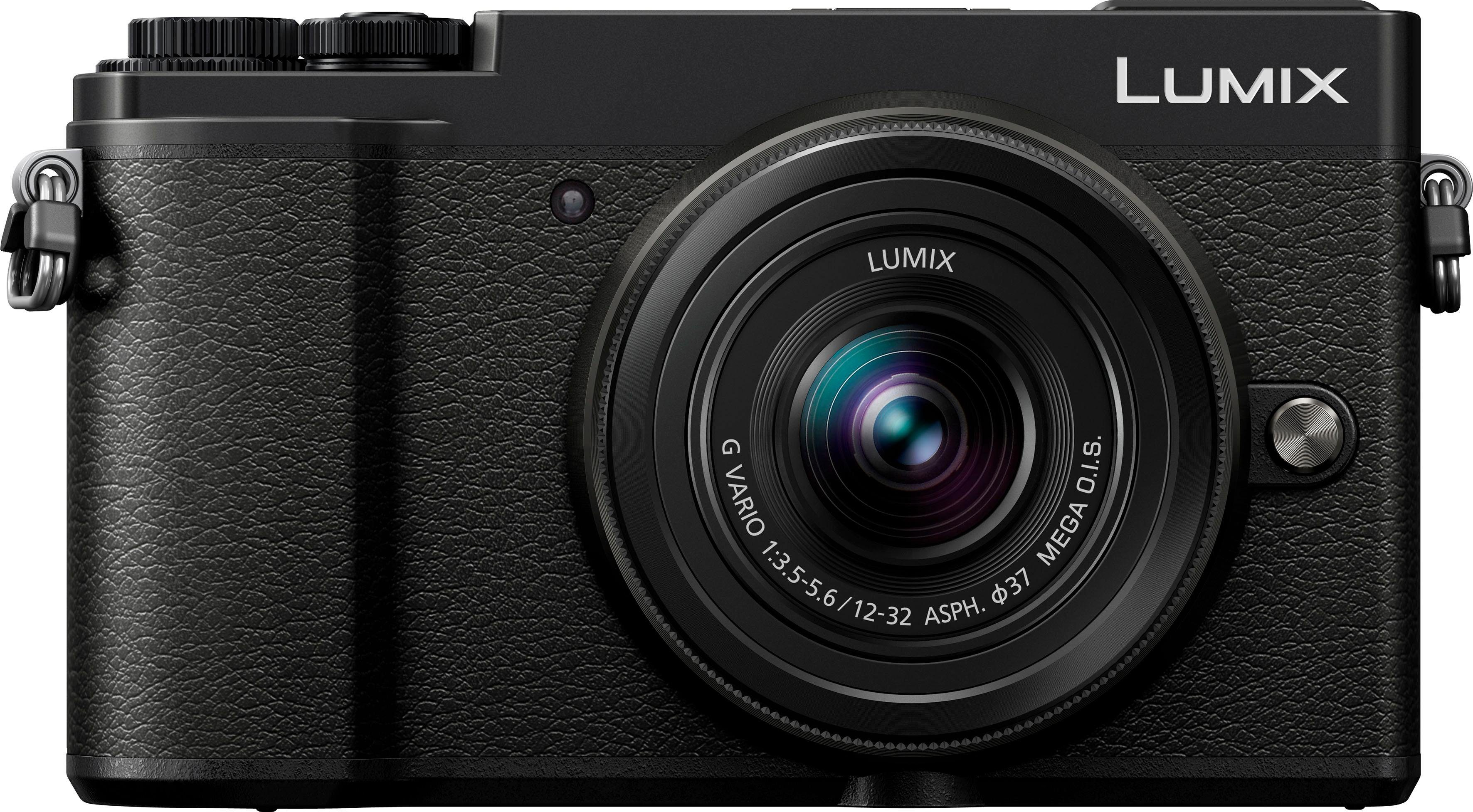 Lumix Panasonic »DC-GX9KEG-K« Systemkamera (LUMIX G VARIO 12-32mm / F3.5-5.6 ASPH. / MEGA O.I.S., 20,3 MP, 4x opt. Zoom, Bluetooth, WLAN (Wi-Fi)