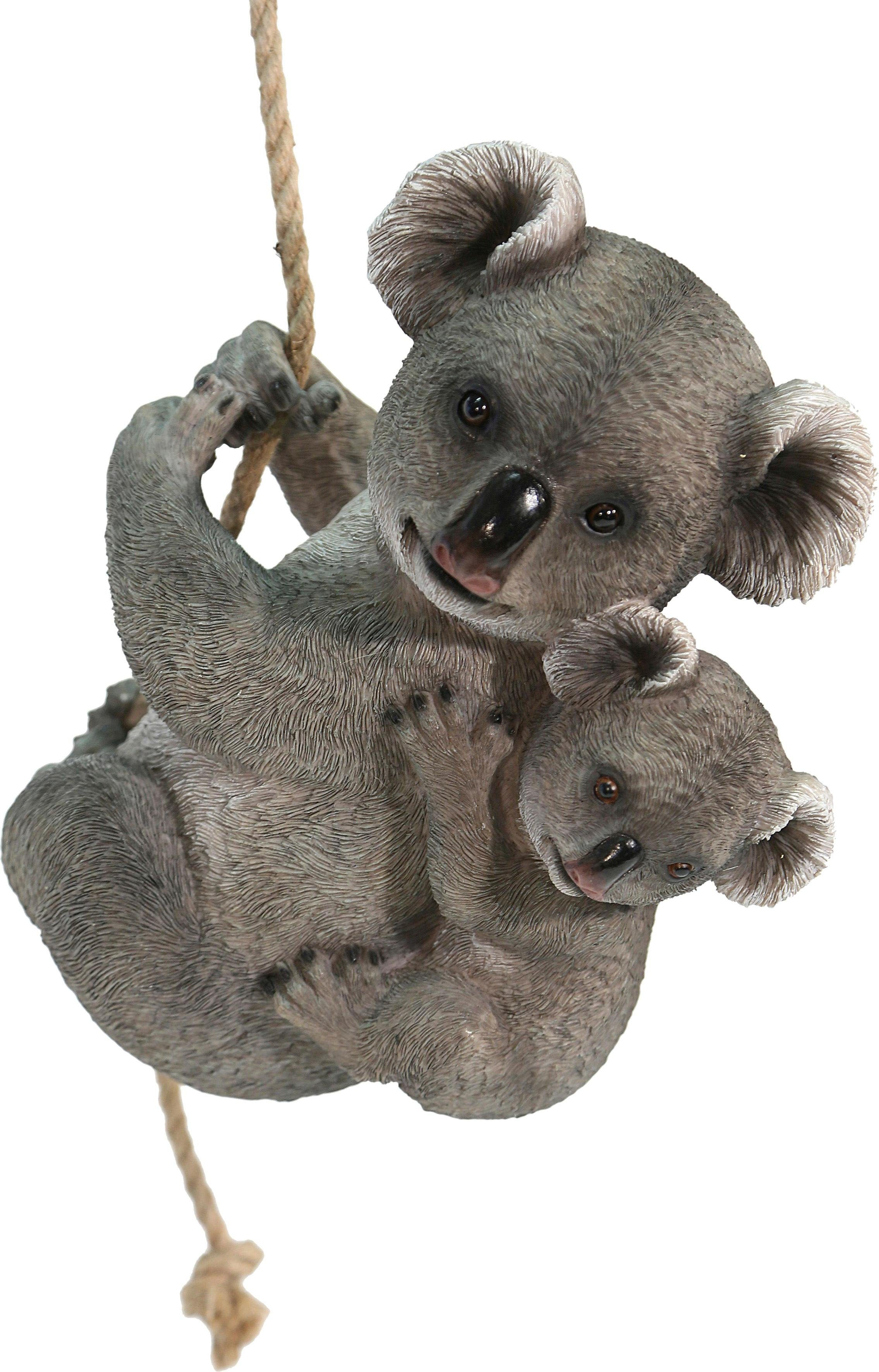 Home affaire Dekofigur »Koala mit Jungen auf Rücken«