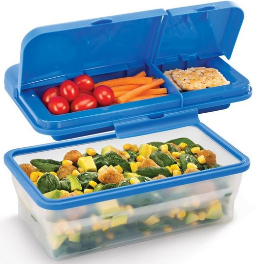 Metaltex Lunchbox »Lunch & Go«, Silikon, Kunststoff, (1-tlg)