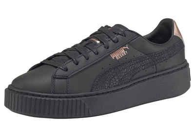 e7fb72e490 Vikky Platform SL Damen Glattleder Sneaker High 38 EU Puma Rabatt ...