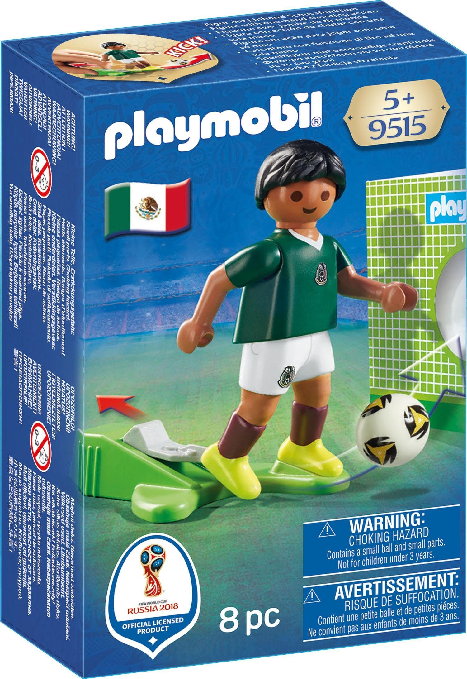 Playmobil® Nationalspieler Mexiko (9515), »Sports & Action - 2018 FIFA World Cup Russia™«